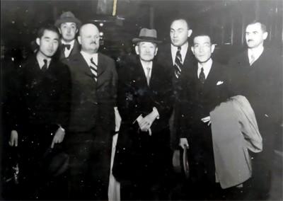 Jigoro Kano and his 3 visits Prague ( November 1912, September 1920, September 1936 ) 19360907XX_JigoroKano