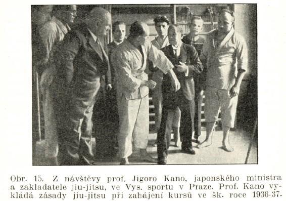 Jigoro Kano and his 3 visits Prague ( November 1912, September 1920, September 1936 ) 19360911XX_fsdobo_jigorokano
